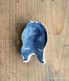 KATA KATA Small Ceramic Bear Plate