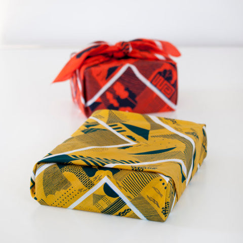 Furoshiki Wrapping Cloth - LINK x Hannah Waldron {Maze}
