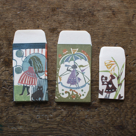 [SOLD OUT] Mihoko Seki Pochibukuro Paper Pockets (Pack of 5)
