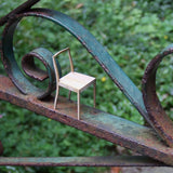 Paper model chair {Plywood Chair}
