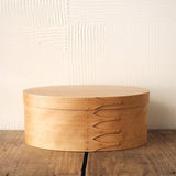 Oval Box Sakura Wood #6