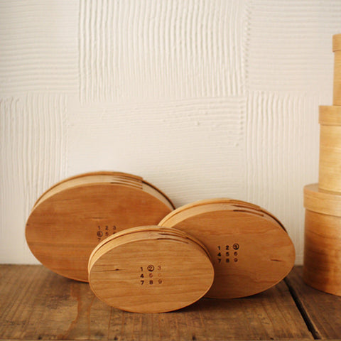 Oval Box Sakura Wood #2 (will be shipped August-September)