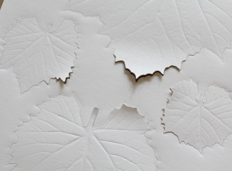 Paper Leaf {Grape}
