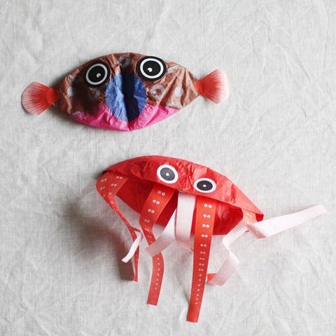 Japanese Paper Balloon {Fish Mini Set}