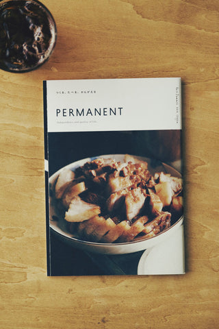 [SOLD OUT] PERMANENT ISSUE 3