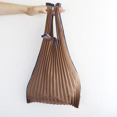 Pleated Eco-Bag Small {Grey}