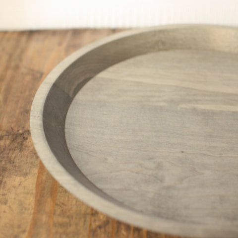 Masashi Ifuji Wooden Round Trays {Vegetable Dyed}