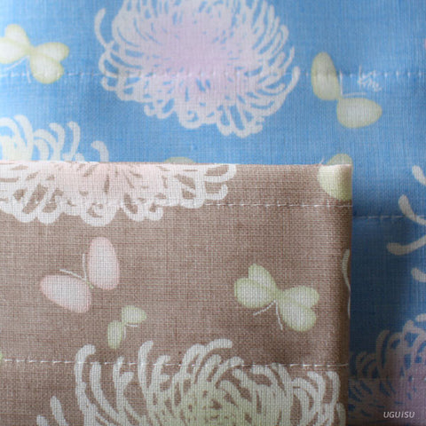 Shirayuki Towel Yuzen Dyed {Chrysanthemum}