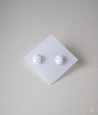 Kimiko Suzuki Tablet Earrings [C]