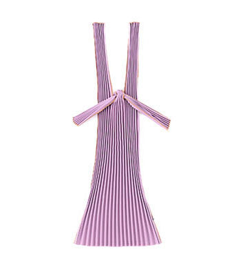 Kna Plus Pleated Eco-Bag Small {Purple}