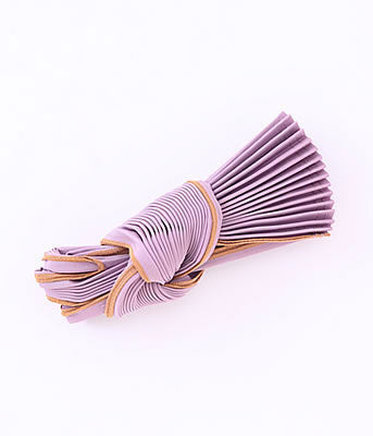 [Backorder] Pleated Eco-Bag Small {Purple}