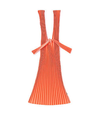 [Backorder] Kna Plus Pleated Eco-Bag Small {Orange} (will be shipped mid April)