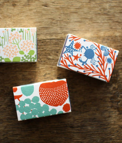 Ten-to-sen Letterpress Mini Note Cards in Match Box