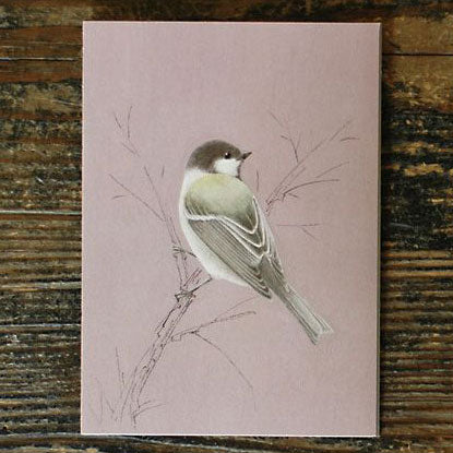 Tobidustry Pop-Up Bird Card {Japanese Tit}