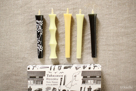 Japanese Candles Box Set / 5 Candles