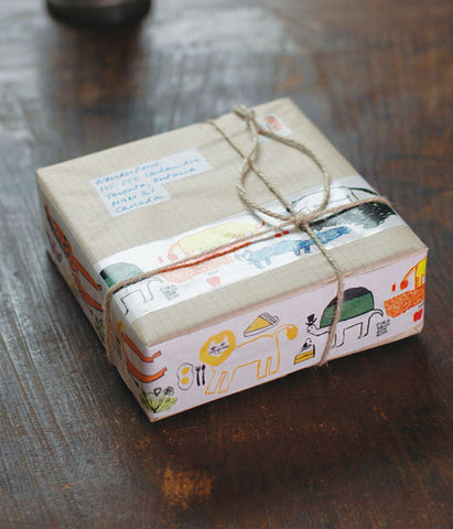 TORANEKO BON BON Packing Tape {Africa}