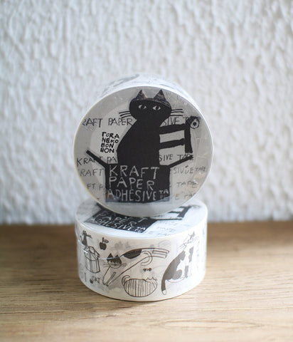 TORANEKO BON BON Packing Tape {Cats}