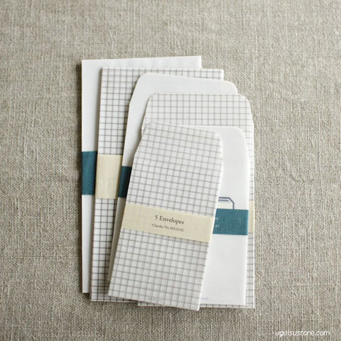 Classiky Tracing Paper Pockets/Envelopes