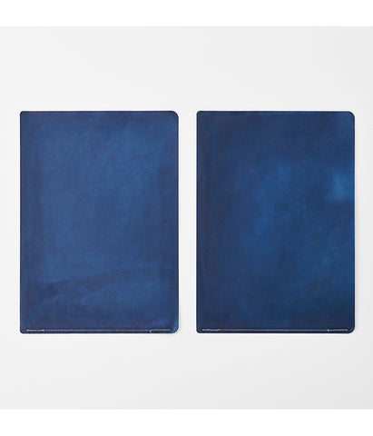 Indigo Dyed Wax-Paper File (will be shipped end of August)