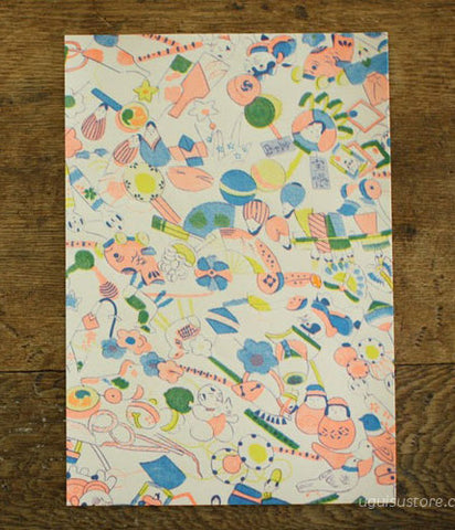 Yonagadou Modern Japan Reproduction Paper {Japanese Toys}