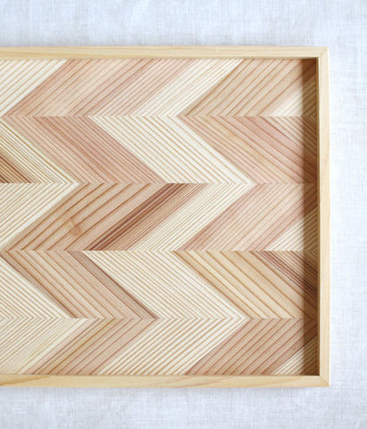 Japanese Cedar Wooden Tray (backorder)