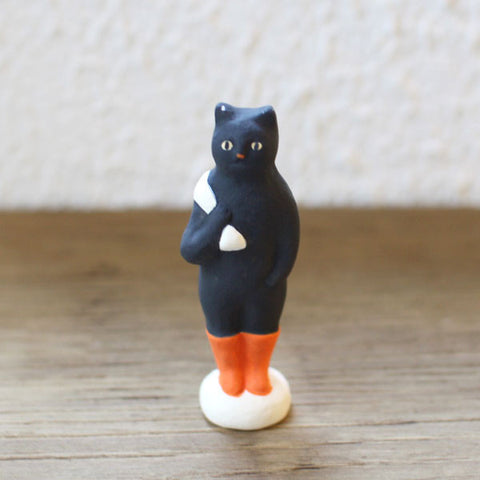 [Sold Out] Yuki Nishio Small Ceramic Figure {Puss in Boots}