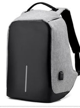 Load image into Gallery viewer, Anti Theft Laptop Backpack - 15in with USB CHARGE PORT