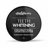 Load image into Gallery viewer, Coconut Shell Activated Charcoal Instant Teeth Whitening Powder (50GM)