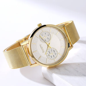 Fashion Womens Classic Quartz Stainless Steel Wrist Watch Fashion Jewelry
