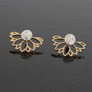 Fashion Alloy Earrings Ear Ring Combination Of Fashion Simple Earrings Woman