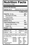 nutrition facts corriander seeds