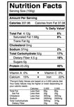 nutrition facts urad washed