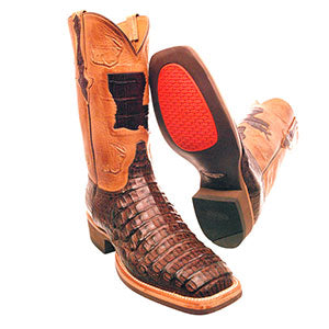 Caiman Crocodile Lucchese Cowboy Boots