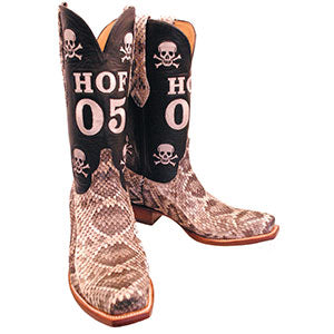 Rattlesnake Custom Lucchese Cowboy Boots