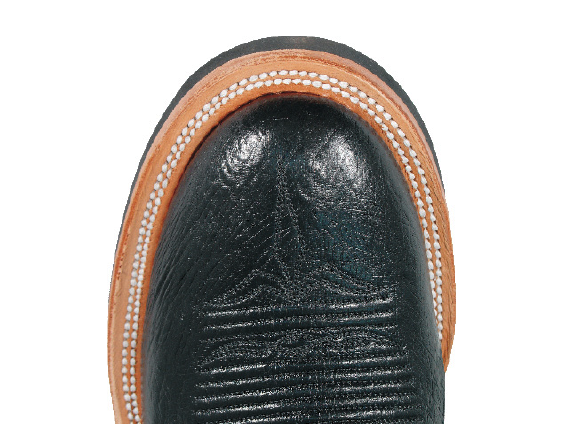 Lucchese 10 Toe Top View