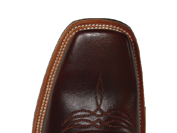 Lucchese 11 Toe Top View