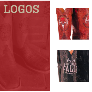 Custom Logos on your cowboy boots