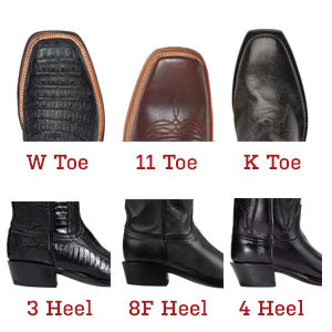 lucchese toe options 1