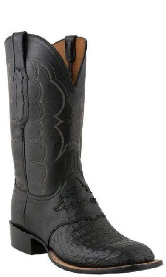 Lucchese C1062.W8 Mens Hornback Caiman Crocodile Boots