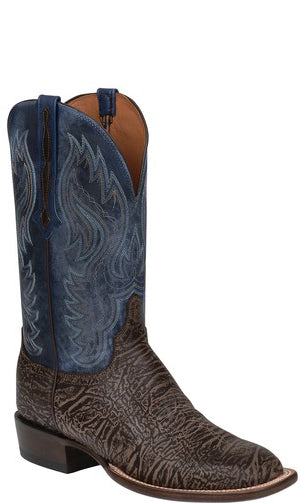 DISCONTINUED Lucchese Miller C1510 Mens American Bison Chocolate Boots
