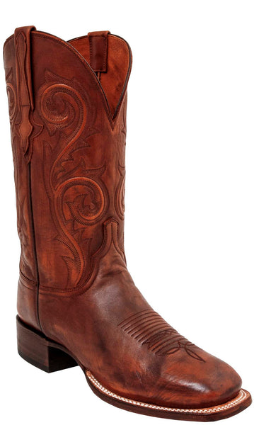 Lucchese Curtis C1521 Mens Gilmar Antique Whiskey Boots