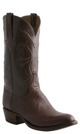 Lucchese Classics E2203 Mens Sienna Smooth Ostrich Boots