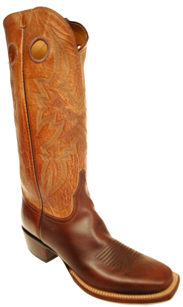 Lucchese Classics GC0907 Mens Chocolate Oil Calfskin Boots Size 9.5 D STALL STOCK
