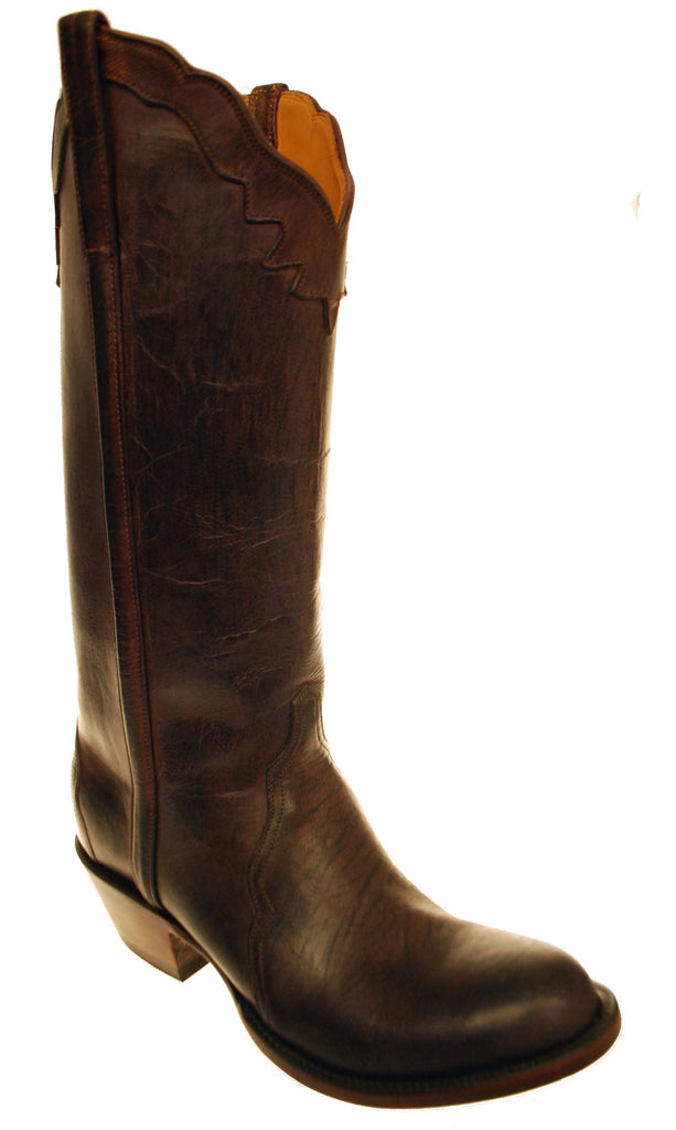 569fed793a235 Lucchese Classics GC8213.S84 Womens Chocolate Mad Dog Goat Boots Size –  Cowboy Chief