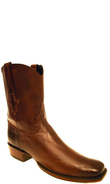 Lucchese Classics GD1420.XK8 Mens Whiskey Burnished Baby Buffalo Boots Size 10.5 D STALL STOCK