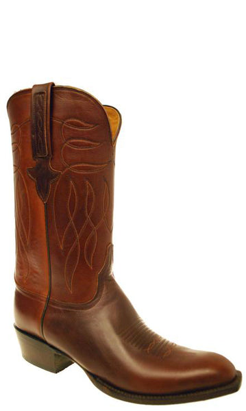 Lucchese Classics GD4299.13 Mens Chocolate Brown Oil Calfskin Boots Size 11 D STALL STOCK