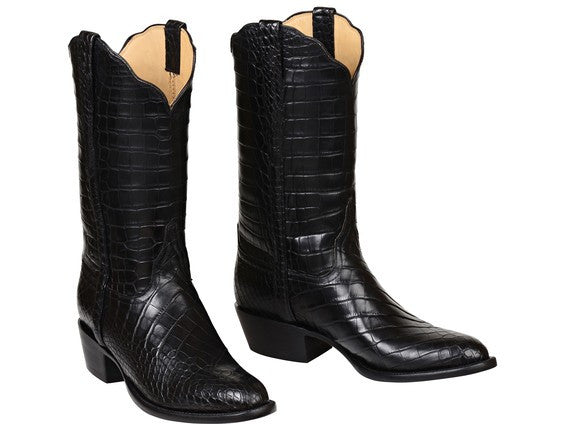 Lucchese Baron Gy1013 Mens All Over Black American