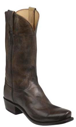 Lucchese GY1507.73 LEADVILLE Mens Pearl Bone Mad Dog Goat Boots