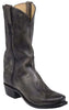Lucchese GY1508 LEADVILLE Mens Stonewash Anthracite Grey Mad Dog Goat Boots