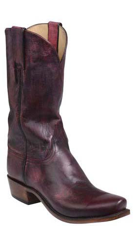 Lucchese Leadville GY1509.73 Mens Red Mad Dog Goat Boots